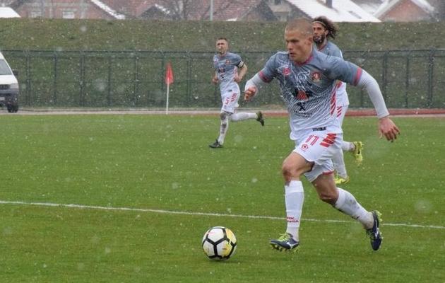 Henrik Ojamaa lõi muuhulgas värava, mis kindlustas klubile tiitli. Foto: hnk-gorica.hr