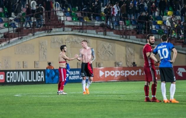 Joonas Tamme ette viimine on Eesti tulemuseni aidanud nii Küprose kui Gibraltari vastu. Gruusias ei kasutanud me seda võimalust isegi lõpu eel. Foto: Brit Maria Tael