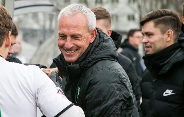 Arno Pijpers esiplaanil, Jürgen Henn paremal taga. Foto: Brit Maria Tael