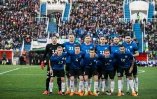 Eesti langes FIFA edetabelis koguni kaheksa kohta, esikolmikus uus tiim