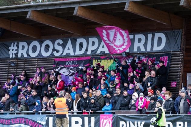 LAHE! Roosad pantrid üllatasid Saaremaal mänginud Kalju U15 tüdrukuid