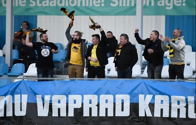 Tuli küll 2:4 kaotus, aga Pärnu Vaprad Karud võitlesid oma klubi eest lõpuni välja. Foto: Imre Pühvel