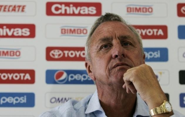 Cruyff on kolmel hooajal juhendanud Ajaxit ja koguni kaheksal Barcelonat. Foto: ibtimes.co.uk
