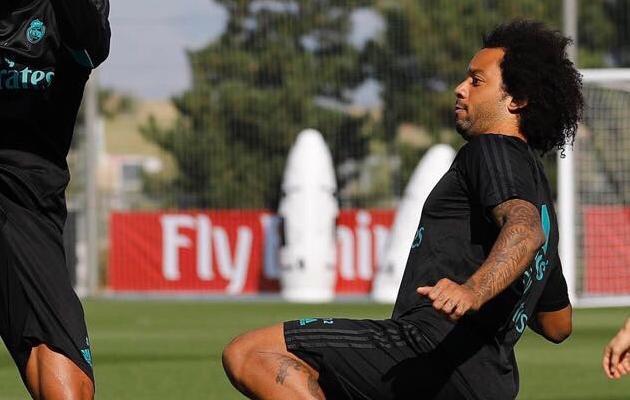 Marcelo on viimasel ajal treeningutel eriti tuline