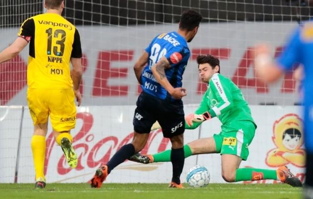 Igonen piirdus Lilleströmis esimesel hooajal kaheksa mänguga. Foto: lsk.no