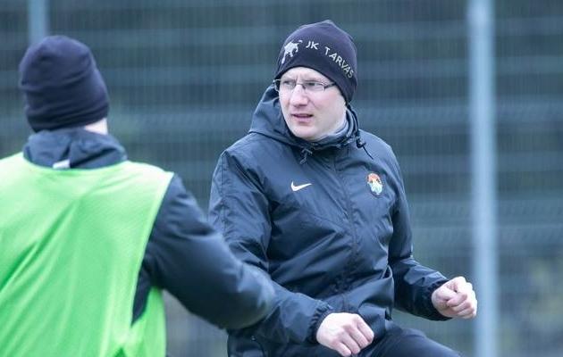 Rakvere peatreener Tarmo Rebane. Foto: Ain Liiva / Rakvere Tarva FB