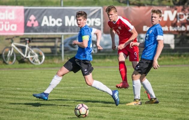 Hetk teisipäevasest mängust. Foto: jalgpall.ee