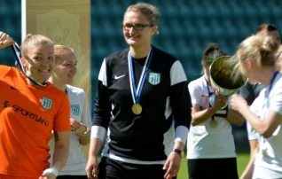 Ševoldajeva: õpetlik mäng oli - Riia mängis teistsugust jalgpalli kui Eestis mängitakse
