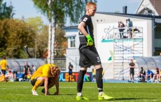 35 mängu õnnetust sai läbi - Vaprus avas Saaremaal võiduarve <i>(hinda mängijaid!)</i>