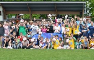 Viljandis peeti erivajadustega laste jalgpallifestivali