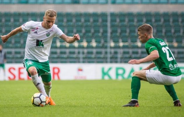 Vooru paremuselt teine mängija oli Markus Jürgenson, enim vigu teenis Joseph Saliste. Foto: Jana Pipar / EJL