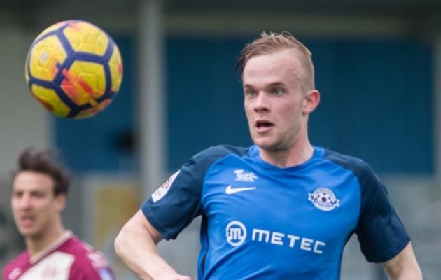 Tristan Koskor 2018. aastal Tartu Tammeka eest mängimas.