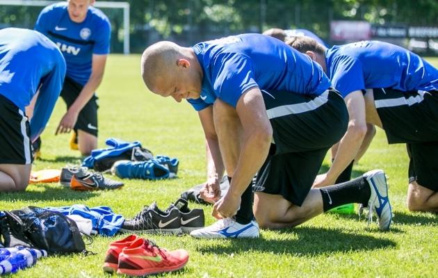 Nägu naerul - Henrik Ojamaal on selja taga hea hooaeg ja see tõi talle pärast eelmist suve esmakordselt ka koondisekutse. Foto: Brit Maria Tael