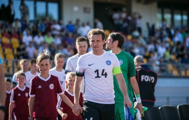 Koondises korduvalt kaptenipaela kandnud Vassiljevi seis on praegu klubis üsna keeruline. Foto: Brit Maria Tael