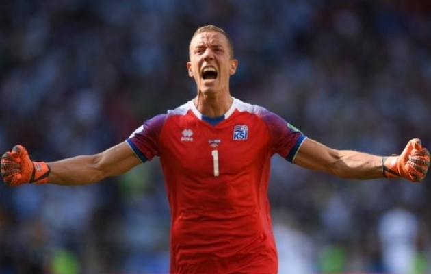 SEE MEES ON TALENT! Messi penalti tõrjunud Halldorsson tegi Islandi jalkast ÜLITUUSA video