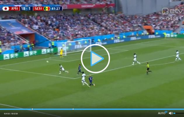 JAAPANI IME: märkamatult löödi Senegalile 18 (!) väravat!