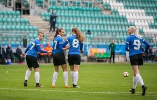 Tüdrukute U17 koondis tegi Balti turniirile unelmate alguse, aga lõpuks viigistas
