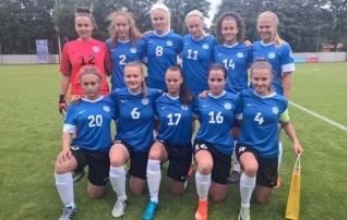 Naiste U19 koondis jäi Balti turniiril nullile