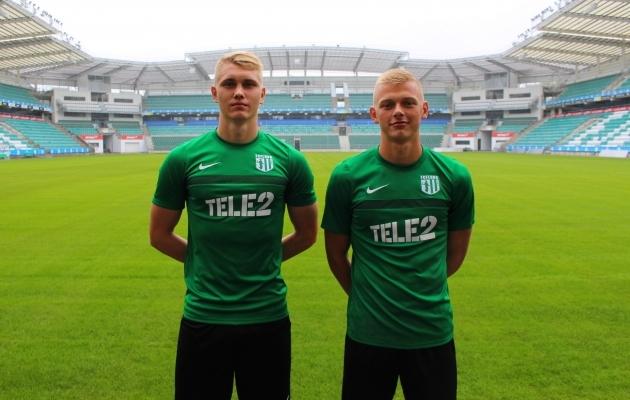 Henrik Pürg (vasakul), Vlasi Sinjavski (paremal). Foto: Flora koduleht
