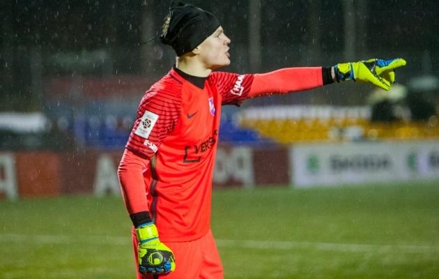 Vigastustega kimpus olnud Kristjan Tamme võtab jalgpallist aja maha. Foto: Gertrud Alatare