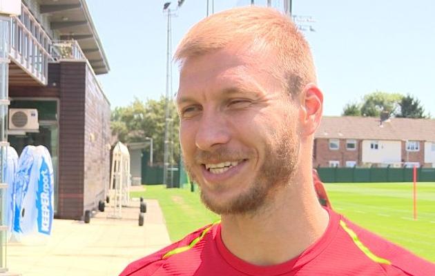 Ragnar Klavan jõudis Liverpooliga kevadel Meistrite liiga finaali. Foto: liverpoolfc.com