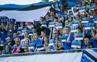 Jalgpall on pealtvaatajate arvu poolest Eesti populaarseim spordiala
