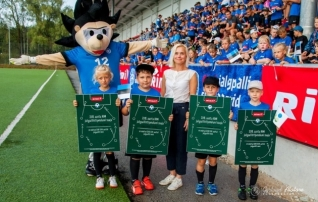 Jalgpallilaagris selgusid Rimi stipendiumite võitjad