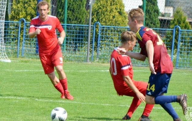 Kostja Vassiljev noortega mängimas. Foto: piast-gliwice.eu