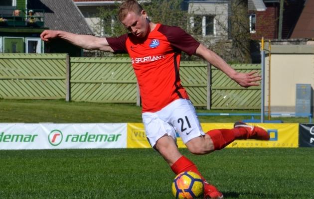Viktor Plotnikov tegi tänavu Premium liigas kaasa 33 mängu, lõi 13 väravat ning andis kaheksa väravasöötu. Foto: Liisi Troska