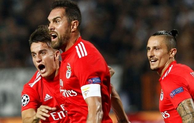 Klassika: Benfica fännid reisisid valesse Frankfurti
