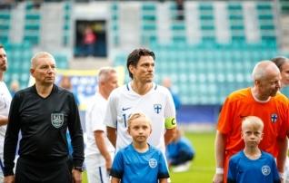 Litmanen mängib homme koos Eesti legendidega Kalju eest Brasiilia võistkonna vastu