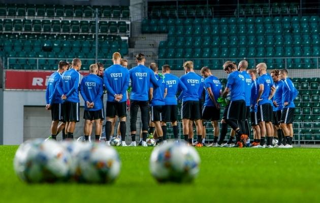 0865378b2f2 Eesti alustas Rahvuste liigat kaotusega - Soccernet.ee - Jalgpall luubi all!