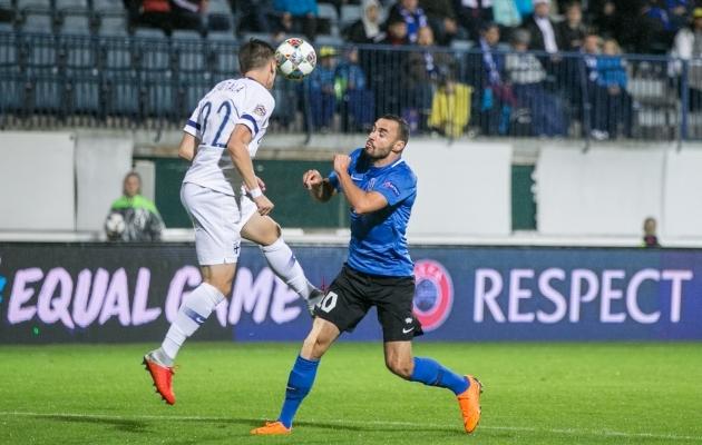 Soome vääris võitu igati ja võib EM-i piletist edasi unistada. Foto: Brit Maria Tael
