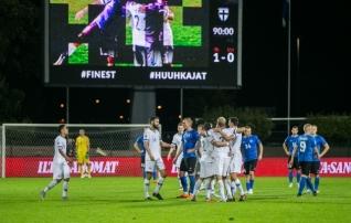 Video ja galerii: Eesti koondis kaotas Soomele Pukki väravast