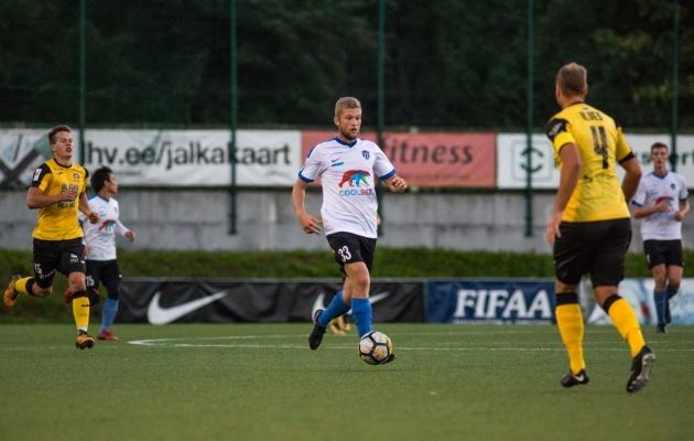 Karl Mööl tänases mängus. Foto: Jana Pipar / EJL