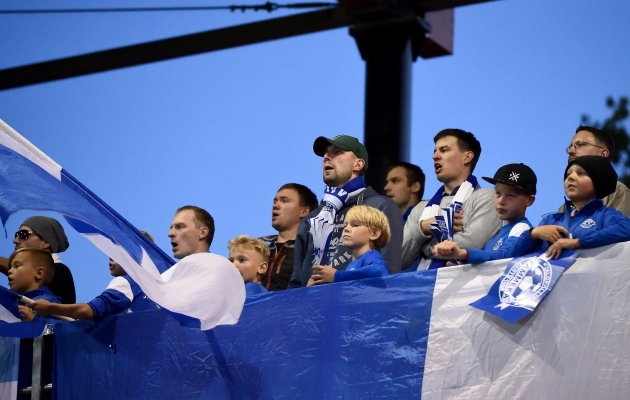 Tartu jalgpallisõbrad loodavad, et Tallinna ülemvõim saab murtud. Foto: Imre Pühvel