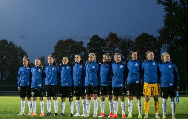 Eelmisel nädalal kaotasid naised tugevale Poolale kodus 0:3. Foto: Brit Maria Tael