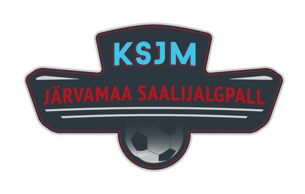 KSJM Järvamaa saalijalpalli logo
