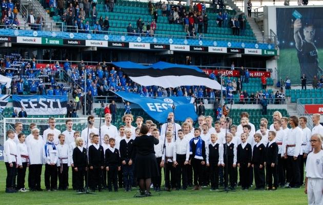 Varemgi on hümni esitanud poistekoor. Seekord teeb seda Estonia poistekoor. Foto: Oliver Tsupsman (arhiiv)