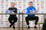 Eesti koondise pressikonverents ja trenn