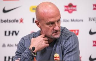 Ungari peatreener: kui Eesti lööb meile kolm väravat, on sellest raske aru saada