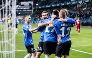Õnne oli, väravaid ka, aga võidule see Eestit ei aidanud