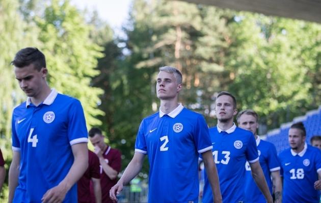 VAATA JÄRELE: Eesti U21 koondis teenis EM-valiktsükli viimases mängus oma teise punkti