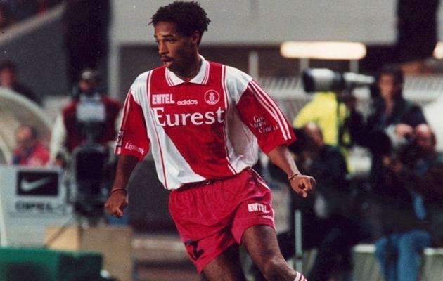 Nooruk Thierry Henry esindamas AS Monacot. Foto: Futbolete.com