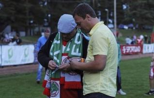 Homsel FC Elva kodumängul viiakse läbi tõeliselt südamlik aktsioon