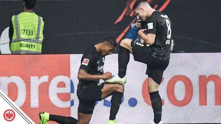 Jovic lõi Bundesligas VIIS väravat, esimene oli lihtsalt geniaalne!