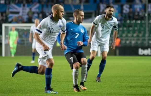 Sander Puri Soome vastu. Foto: Liisi Troska
