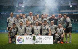 Video: Rahvaliiga meistriks krooniti Pärnu Sadam