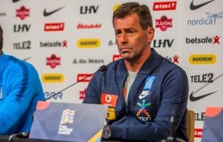 Kaotus soomlastele sai määravaks: Kreeka koondis vahetas enne mänge Soome ja Eestiga peatreenerit