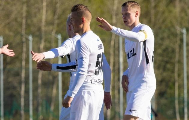 Klubi- ja eakaaslased Erik Sorga ja Markus Poom kuuluvad mõlemad enim arenenud mängijate hulka. Foto: Oliver Tsupsman